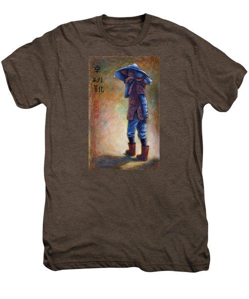Lucky Red Boots Men's Premium T-Shirt