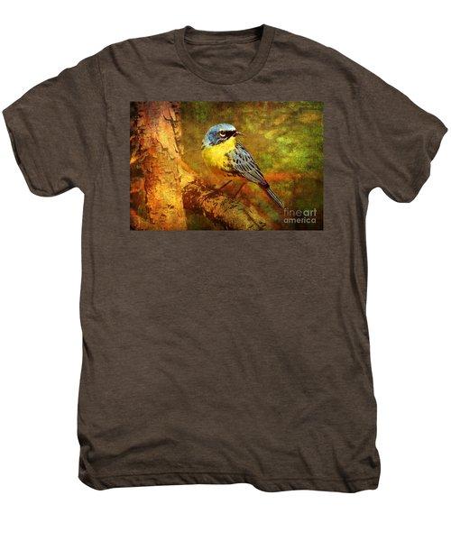 Michigans Rare Kirtlands Warbler Men's Premium T-Shirt