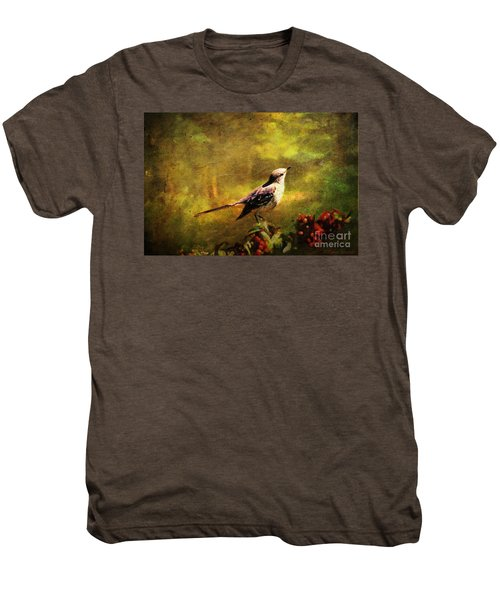 Mockingbird Have You Heard... Men's Premium T-Shirt by Lianne Schneider