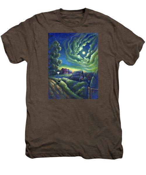 Moonlit Dreams Come True Men's Premium T-Shirt