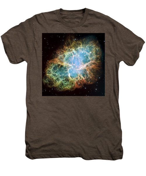Most Detailed Image Of The Crab Nebula Men's Premium T-Shirt