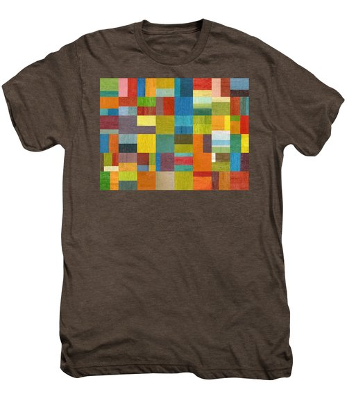 Multiple Exposures Lll Men's Premium T-Shirt by Michelle Calkins