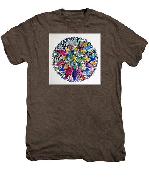 Spring Mandala Men's Premium T-Shirt