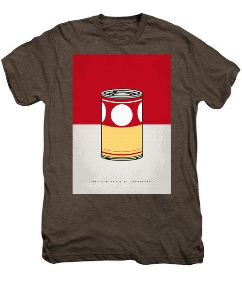 My Mario Warhols Minimal Can Poster-mushroom Men's Premium T-Shirt