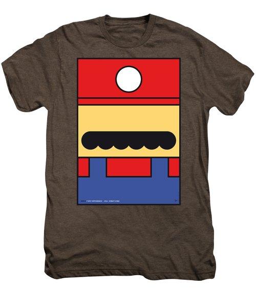 My Mariobros Fig 01 Minimal Poster Men's Premium T-Shirt