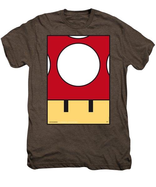 My Mariobros Fig 05a Minimal Poster Men's Premium T-Shirt
