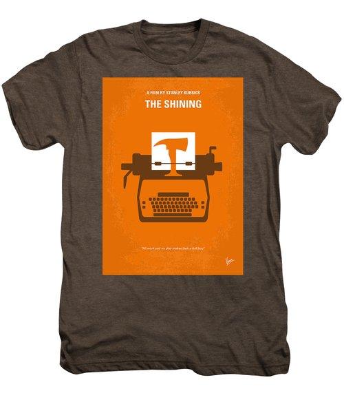 No094 My The Shining Minimal Movie Poster Men's Premium T-Shirt by Chungkong Art