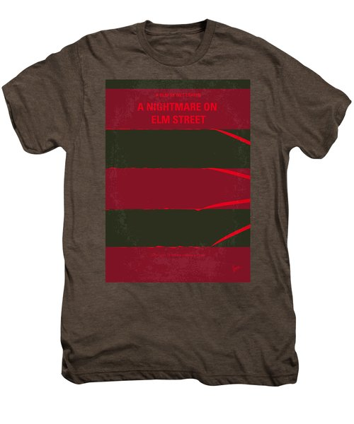 No265 My Nightmare On Elmstreet Minimal Movie Poster Men's Premium T-Shirt by Chungkong Art
