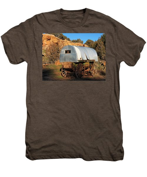 Old Sheepherder's Wagon Men's Premium T-Shirt