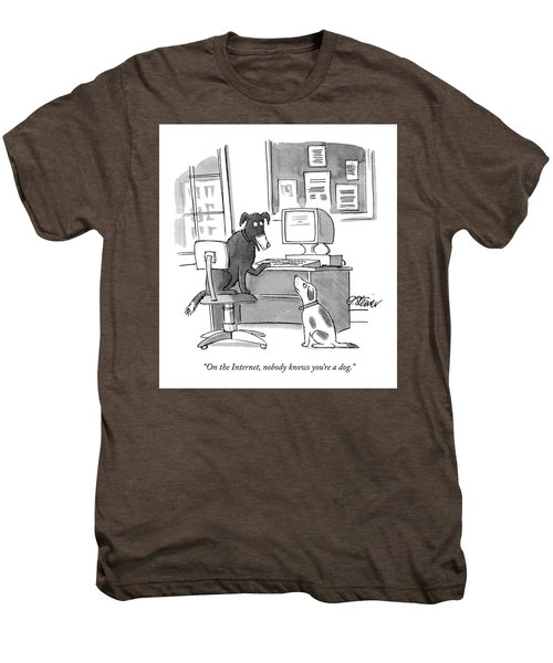 On The Internet Men's Premium T-Shirt