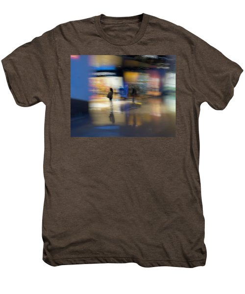 Men's Premium T-Shirt featuring the photograph On The Threshold by Alex Lapidus