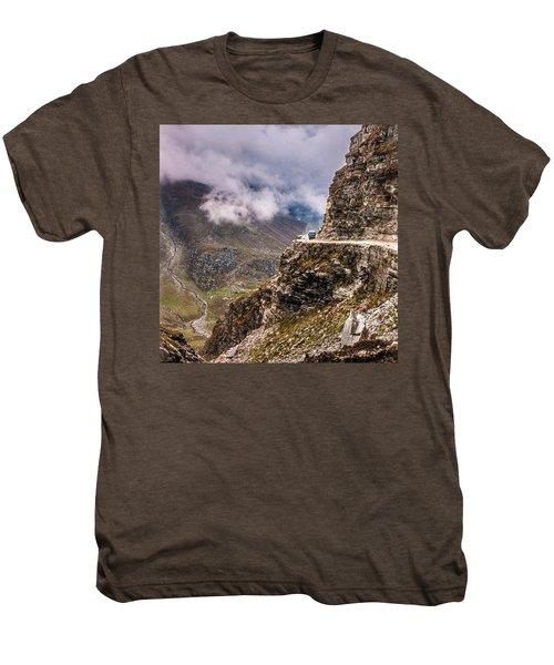 Our Bus Journey Through The Himalayas Men's Premium T-Shirt