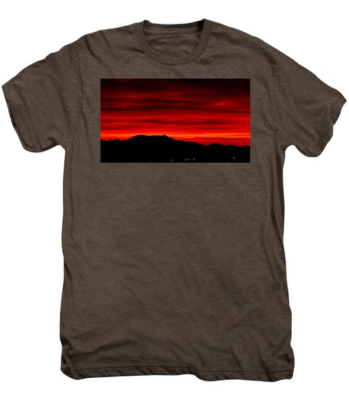 Men's Premium T-Shirt featuring the photograph Painted Sky 36 by Mark Myhaver