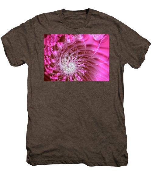 Pink Men's Premium T-Shirt