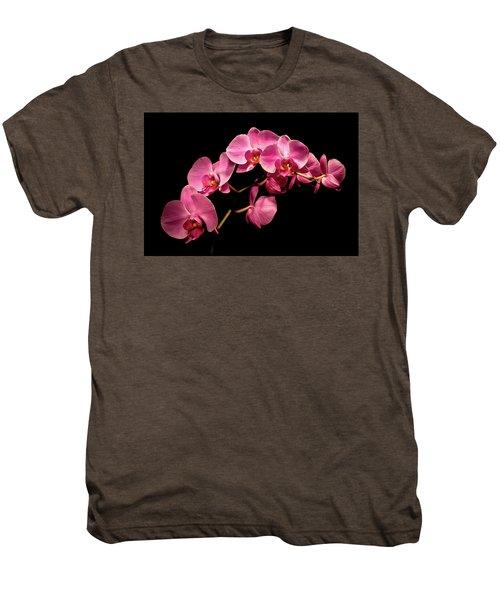 Pink Orchids 3 Men's Premium T-Shirt