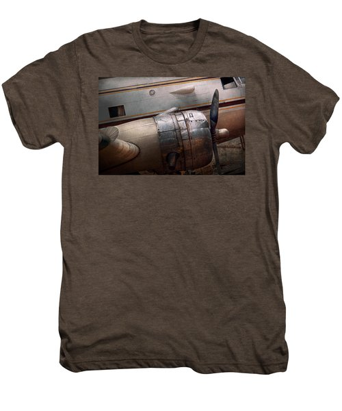 Plane - A Little Rough Around The Edges Men's Premium T-Shirt