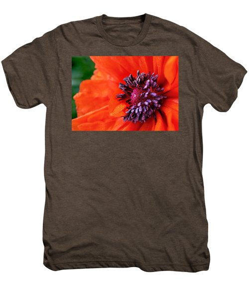 Poppy's Purple Passion Men's Premium T-Shirt by Bill Pevlor
