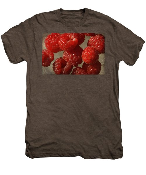 Red Raspberries Men's Premium T-Shirt
