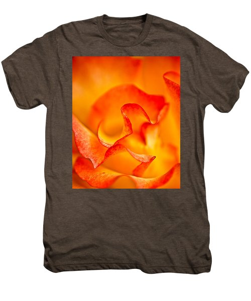 Rose Petals Closeup Men's Premium T-Shirt