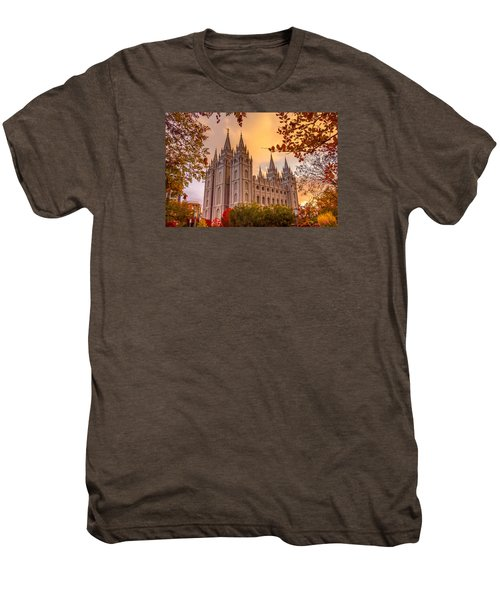 Salt Lake City Temple Men's Premium T-Shirt