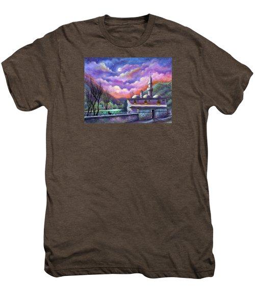 Shoot For The Moon Men's Premium T-Shirt
