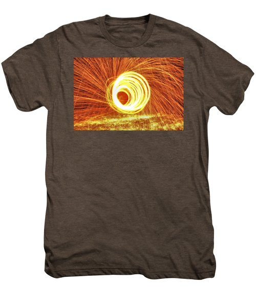 Shooting Sparks Men's Premium T-Shirt by Dan Sproul