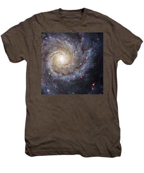 Spiral Galaxy M74 Men's Premium T-Shirt