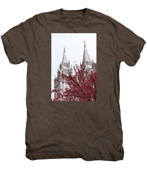 Spring At The Temple Men's Premium T-Shirt