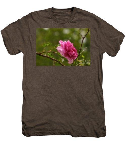 Spring Showers Men's Premium T-Shirt by Peggy Hughes