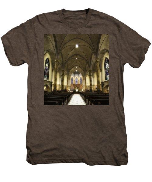 St Mary's Catholic Church Men's Premium T-Shirt by Lynn Geoffroy