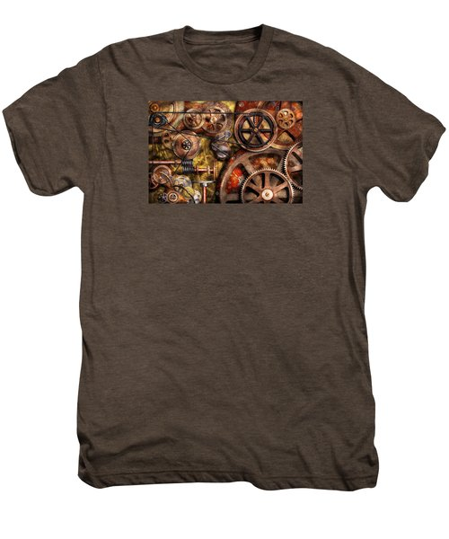 Steampunk - Gears - Inner Workings Men's Premium T-Shirt