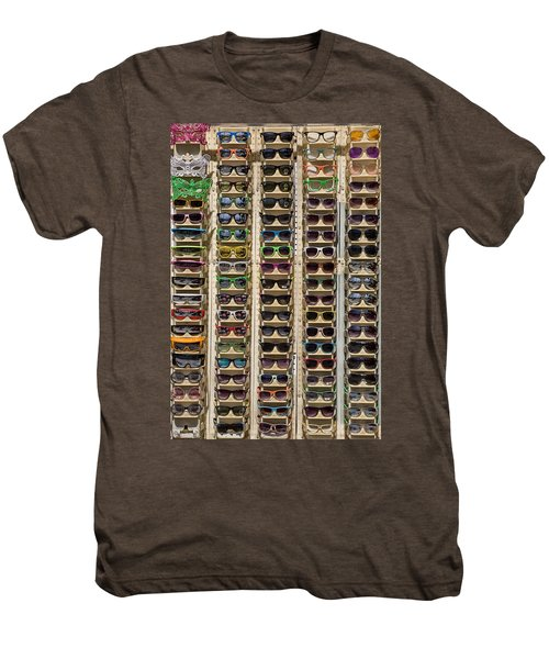 Sunglasses Men's Premium T-Shirt by Peter Tellone