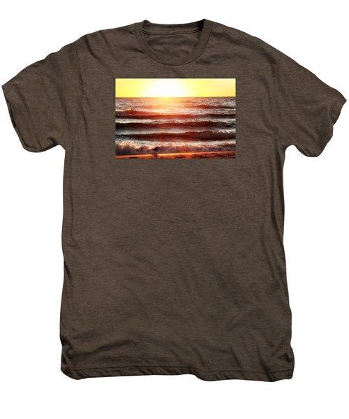 Sunset Beach Men's Premium T-Shirt
