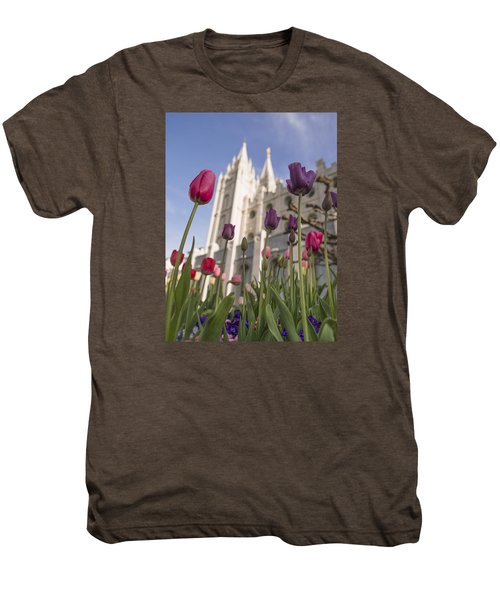 Temple Tulips Men's Premium T-Shirt