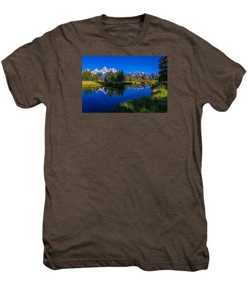 Teton Reflection Men's Premium T-Shirt