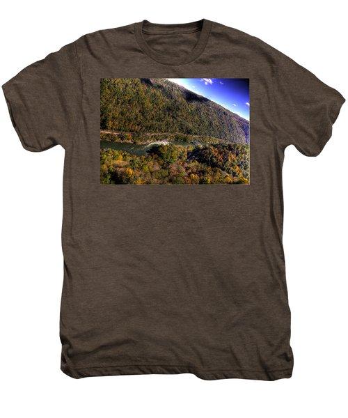 The River Below Men's Premium T-Shirt by Jonny D