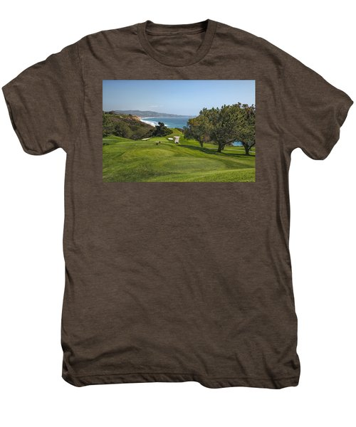 Torrey Pines Golf Course North 6th Hole Men's Premium T-Shirt