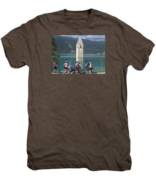 Tower In The Lake Men's Premium T-Shirt