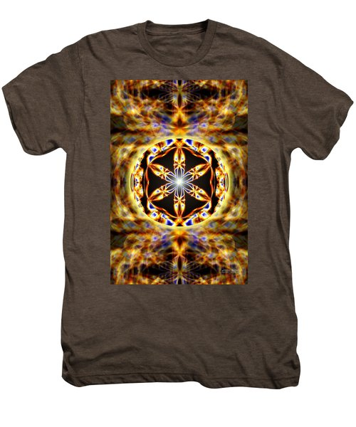 Universal Heart Fire Men's Premium T-Shirt by Derek Gedney