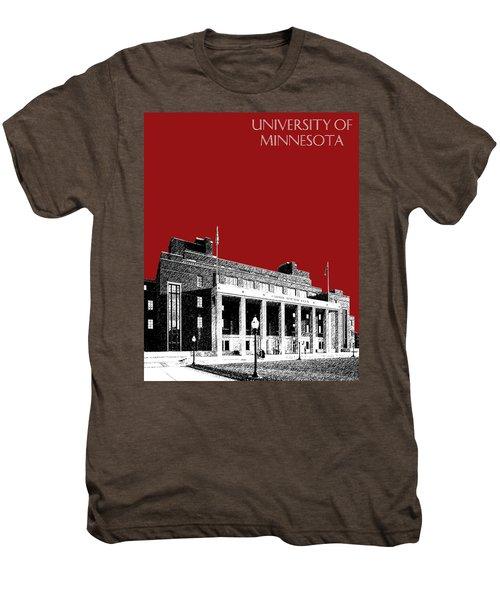 University Of Minnesota - Coffman Union - Dark Red Men's Premium T-Shirt
