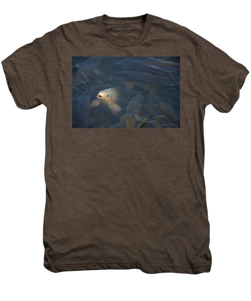 White Carp In The Lake Men's Premium T-Shirt