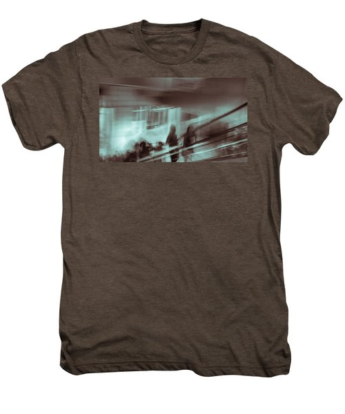 Men's Premium T-Shirt featuring the photograph Why Walk When You Can Ride by Alex Lapidus