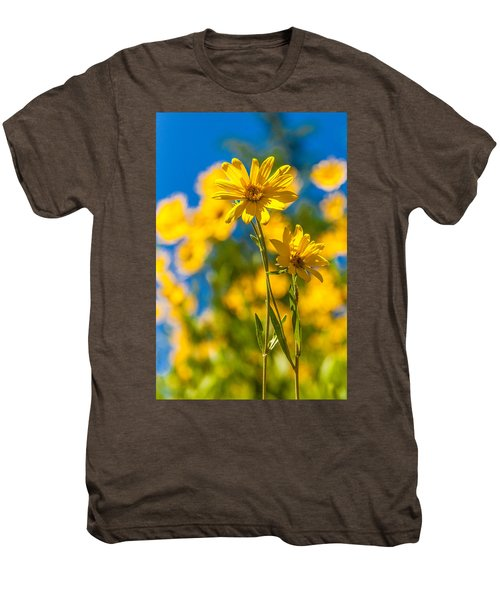 Wildflowers Standing Out Men's Premium T-Shirt