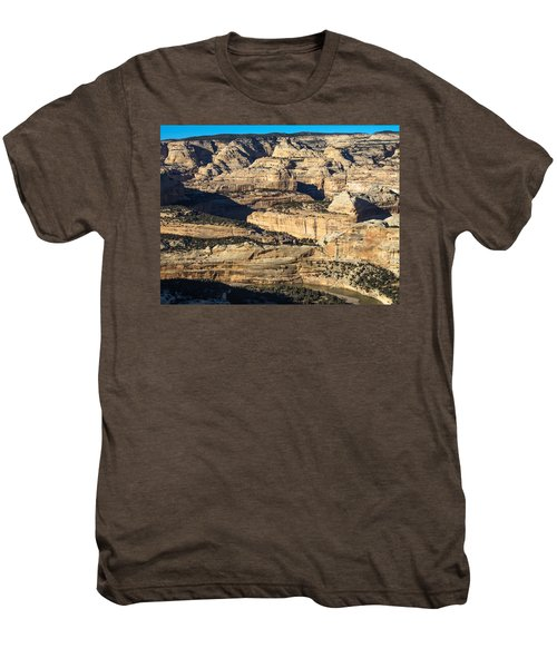 Yampa River Canyon In Dinosaur National Monument Men's Premium T-Shirt