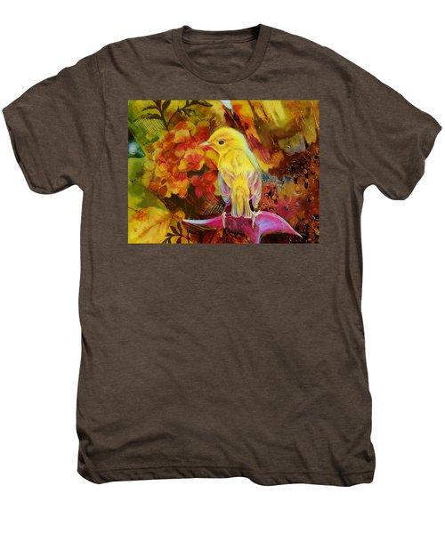 Yellow Bird Men's Premium T-Shirt