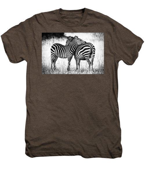 Zebra Love Men's Premium T-Shirt