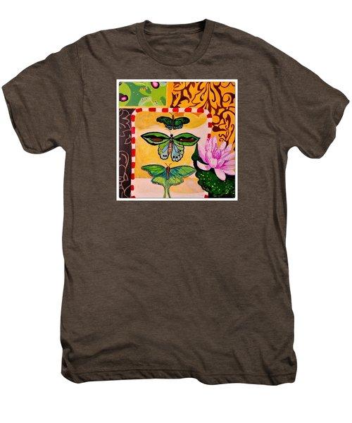 Oil Collage Men's Premium T-Shirt