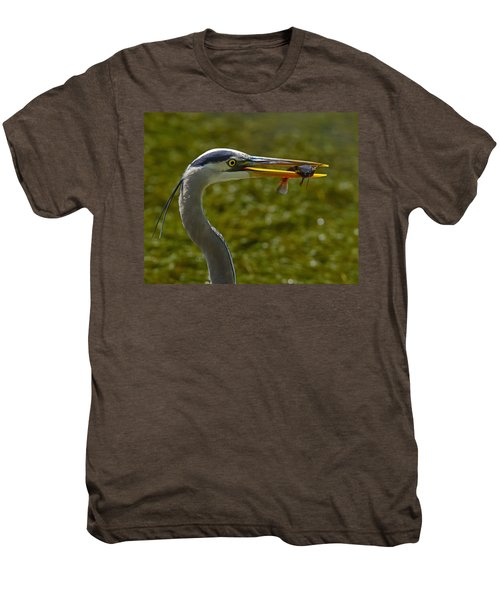 Fishing For A Living Men's Premium T-Shirt by Tony Beck