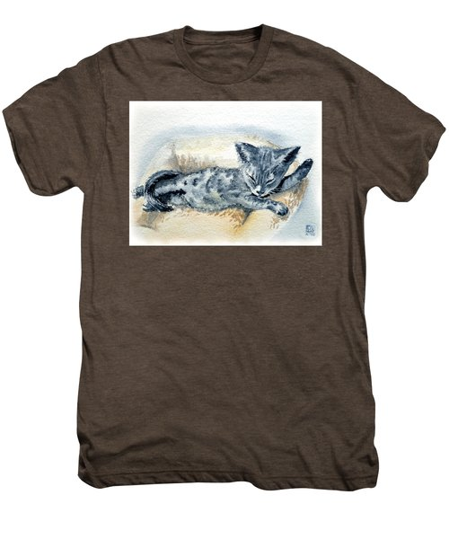 Kitten Men's Premium T-Shirt