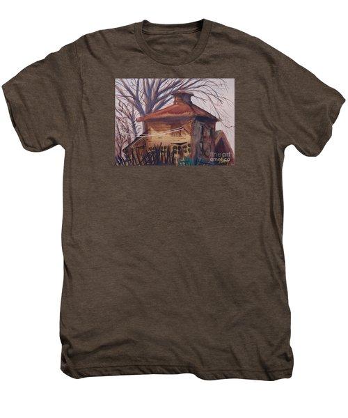 Old Garage Men's Premium T-Shirt
